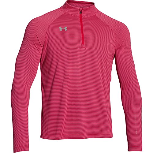 Under Armour Men's Stripe Tech 1/4 Zip Pullover 1/4 Zip Stripe Sweater