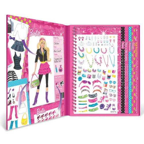 Fashion Angels Barbie Sticker Stylist - Barbie Gift