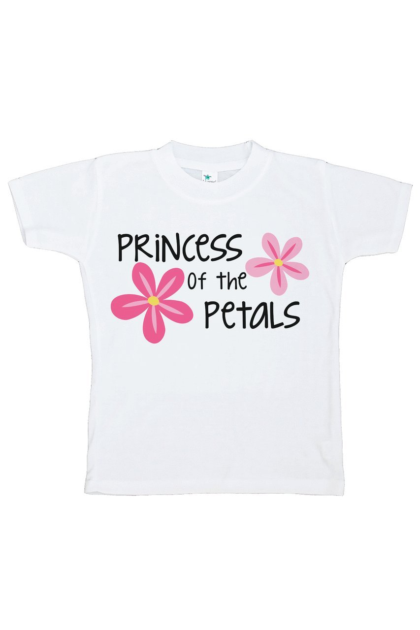 Custom Party Shop Youth Girl's Princess of the Petals Wedding T-shirt Small