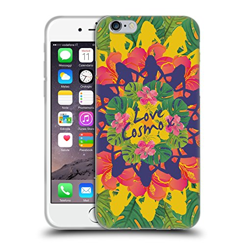 Official Cosmopolitan Kaleidoscope Tropical Soft Gel Case for Apple iPhone 6 / 6s