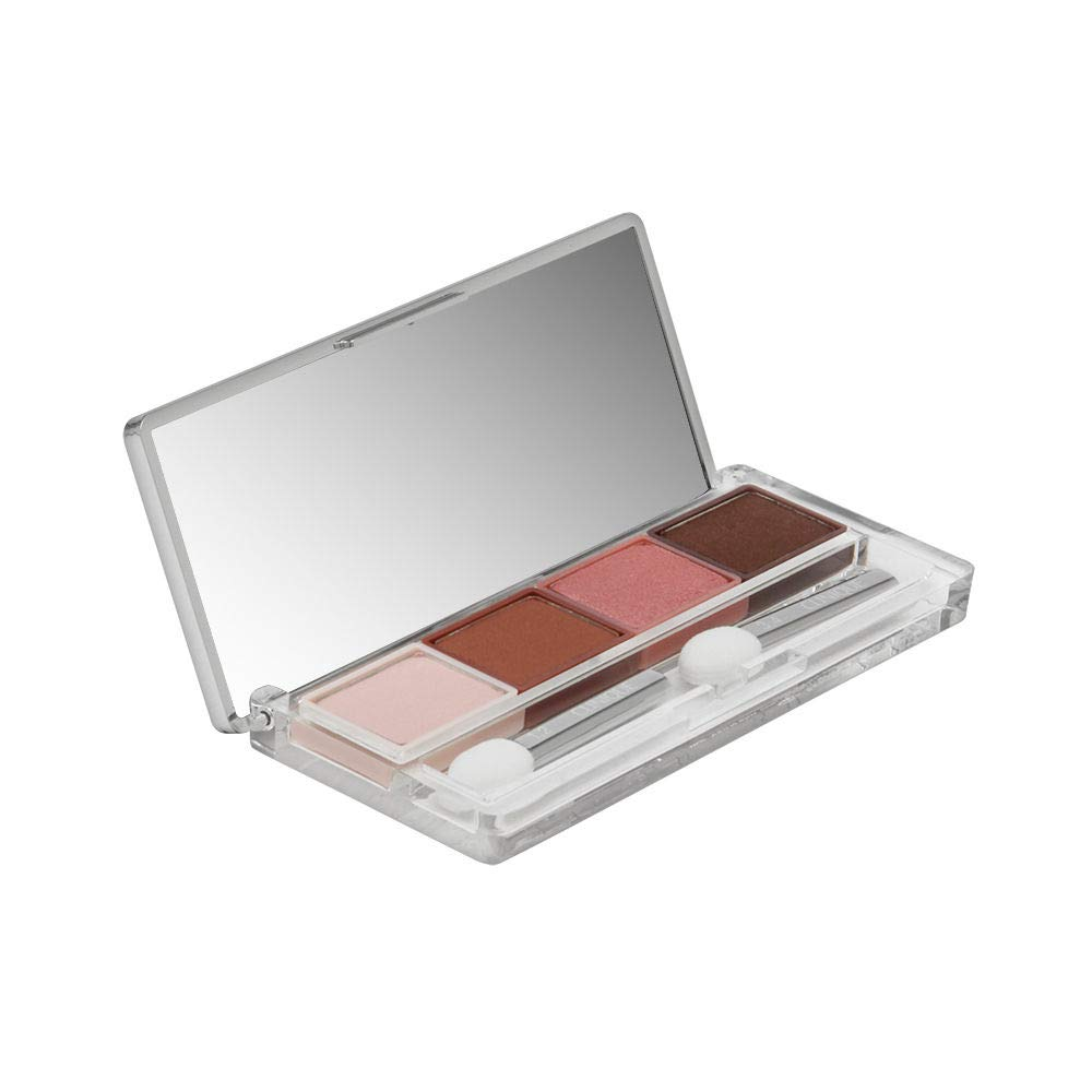 Clinique All About Shadow Quad Eye Shadow for Women, Pink Chocolate, 0.16 Ounce