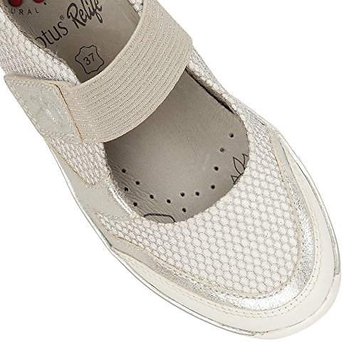 Womens White Casual Shoes Harpulla Lotus fZqnw6Tc5