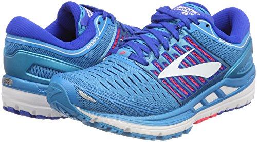 Transcend Running 1b474 pink Donna white Da Brooks blue 5 Scarpe Blu TdvqRwIOOa