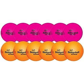 """RuffSKIN 6"""" Neon Dodgeball Class Pack"""
