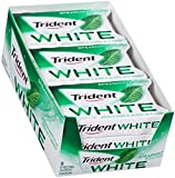 Trident White Sugar Free Gum (Spearmint, 16-Piece, 9-Pack)