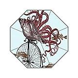 Bernie Gresham Discount Octopus Cycling Bicycle-custom unbrella