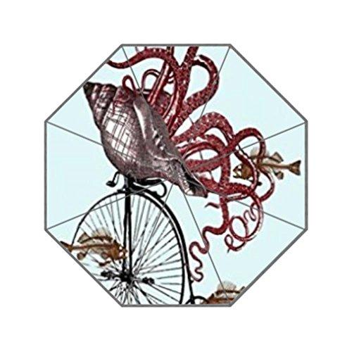 Bernie Gresham Discount Octopus Cycling Bicycle-custom unbrella by Bernie Gresham