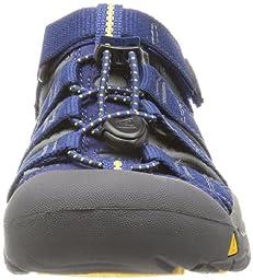 KEEN Newport H2 Sandal (Toddler/Little Kid/Big Kid),Blue Depths/Gargoyle,10 M US Toddler
