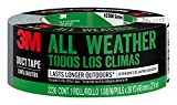 3M All Weather Duct Tape, 2230-HD, 1.88 Inches by 30 Yards