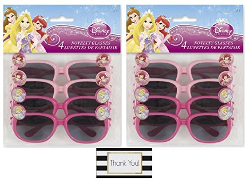 Disney Princess Novelty Glasses Party Favors, 4 ct (2 - Stores Sunglass Outlet