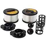 Replacement HEPA Filter Set for DeWalt DWV012 10-Gallon HEPA Shop Vac