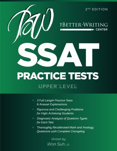 SSAT Practice Tests: Upper Level (2nd Edition)