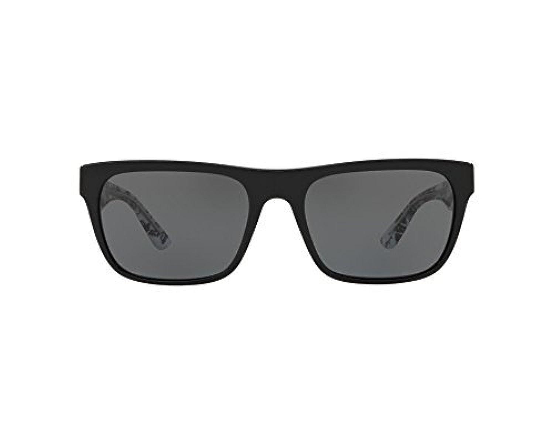 bb7b41278916d Amazon.com  Burberry Men s Rectangular Sunglasses