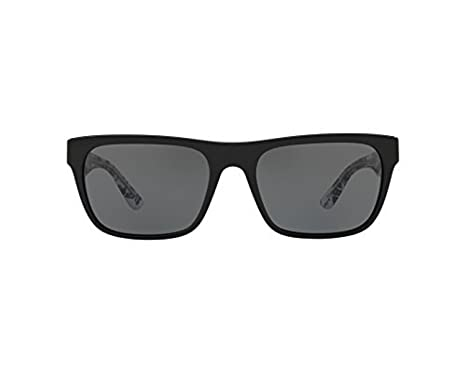 c7b431f5741542 Amazon.com  Burberry Men s Rectangular Sunglasses