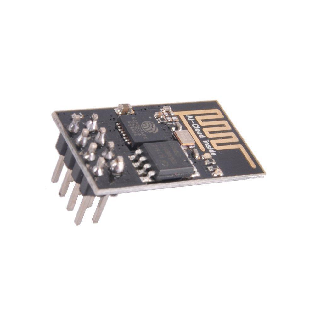 CAOLATOR.WiFi Transceptor inal/ámbrico M/ódulo ESP8266 Serial Wireless WiFi Transceiver Module Compatible with Arduino
