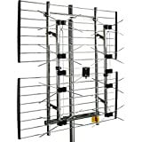 Channel Master EXTREMEtenna Long Range Multi-Directional Outdoor TV Antenna - 80 Mile Range - Preassembled - Install on Rooft