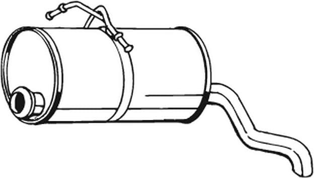 Bosal 135-001 Endschalld/ämpfer