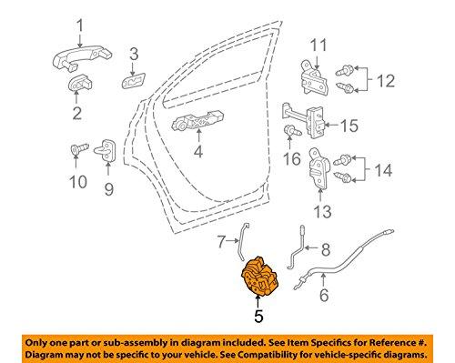 Price comparison product image General Motors 13579551,  Door Lock Actuator Motor