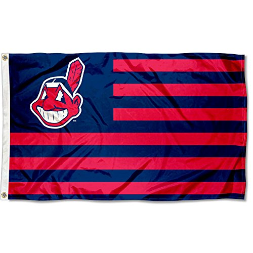 Banner Cleveland Indians (WinCraft Cleveland Indians Nation Flag 3x5 Banner)
