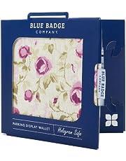 Blue Badge Company Roses Holder Hologram Safe Parking Permit Display Cover Wallet