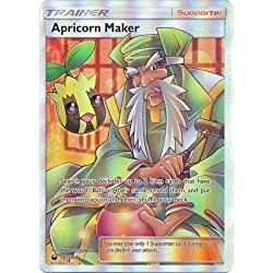 Apricorn Maker - 161/168 - Full Art Ultra Rare - Pokemon Sun & Moon Celestial Storm - Comes Protected In Penny Sleeve & Ultra Pro Top Loader
