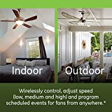 GE Enbrighten Z-Wave Plus Smart Fan Control, Works