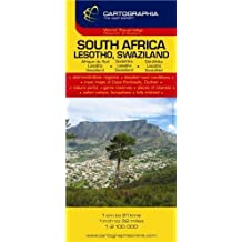 South Africa, Lesotho, Swaziland (Michelin National Maps) (English, French and German Edition) by Cartographia (2012-01-01)