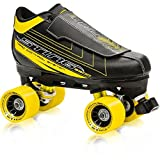 Roller Derby Men's Sting 5500 Quad Roller Skate, Black/Yellow, 9