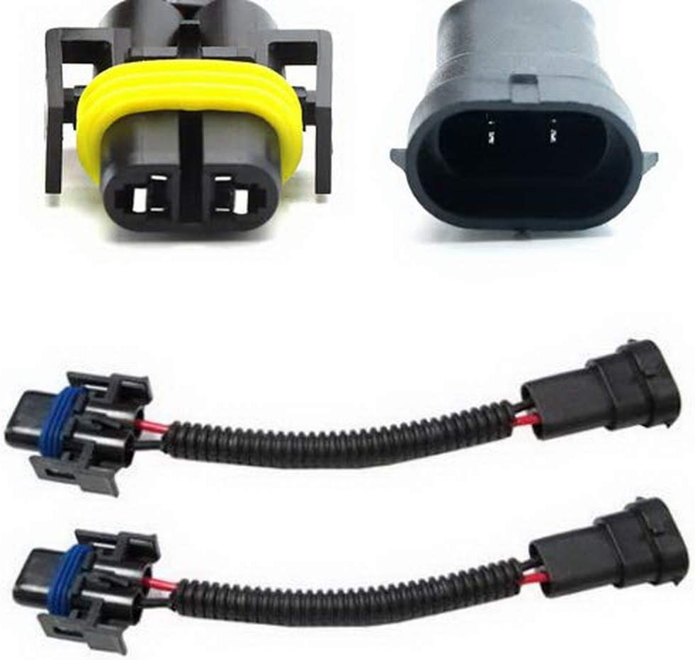 85 ford mustang headlights wiring amazon com ijdmtoy  2  h11 h8 h9 extension wiring harness sockets  h11 h8 h9 extension wiring harness