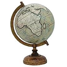 "Decorative Rotating Globe Geography World Ocean Earth Table Decor 13"""