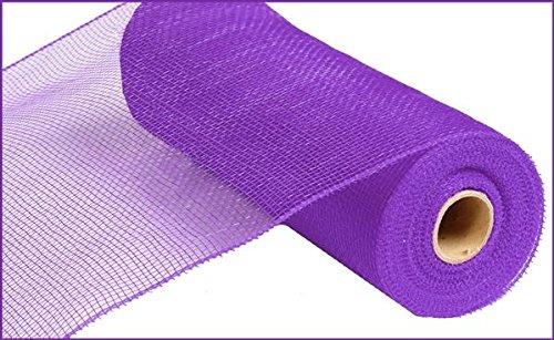 10 inch x 30 feet Deco Poly Mesh Ribbon - Value Mesh (Purple)