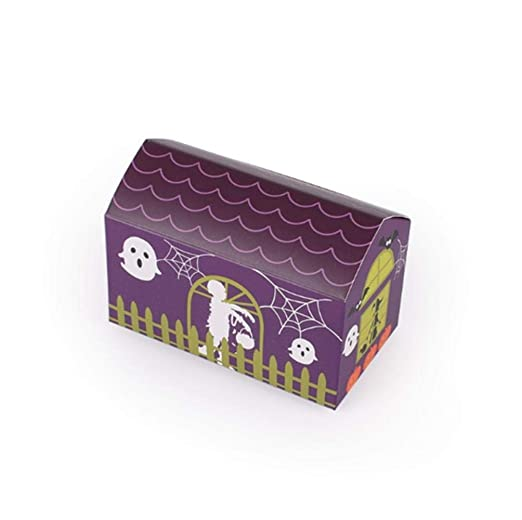LALLing Caja de Galletas de Halloween Little House, Bolsas de ...