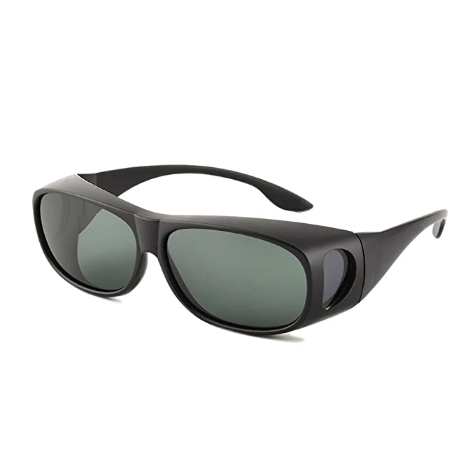 Amazon.com: gudzws anteojos de sol cubierta para llevar ...