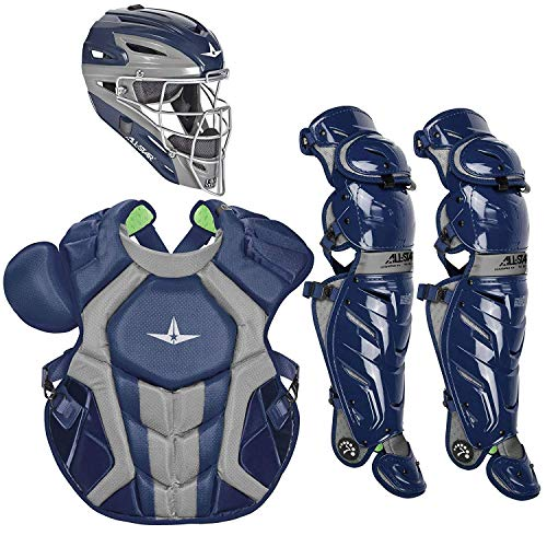90db7be8be All-Star Adult System7 Axis Pro Catcher's Set