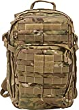 5.11Tactical RUSH12 Military Backpack, Molle Bag Rucksack Pack, 24 Liter Small, Style 56892