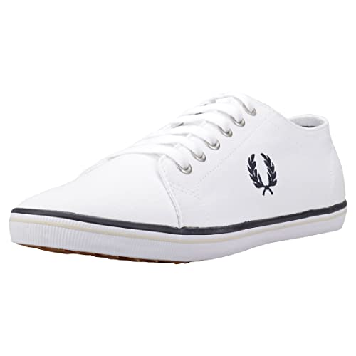 Fred Perry Zapatillas KingstonTwill Blanco 39 Blanco: Amazon.es: Zapatos y complementos