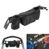 Stroller Organizer Bag And stroller accessories is Perfect gift - Stroller Accessory Bundles for Stroller Cup Holder Universal - Great to Storage for Cups, Phones, Keys, Books and Toys