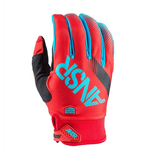 (Answer Racing Syncron Gloves - Small/Red/Teal)
