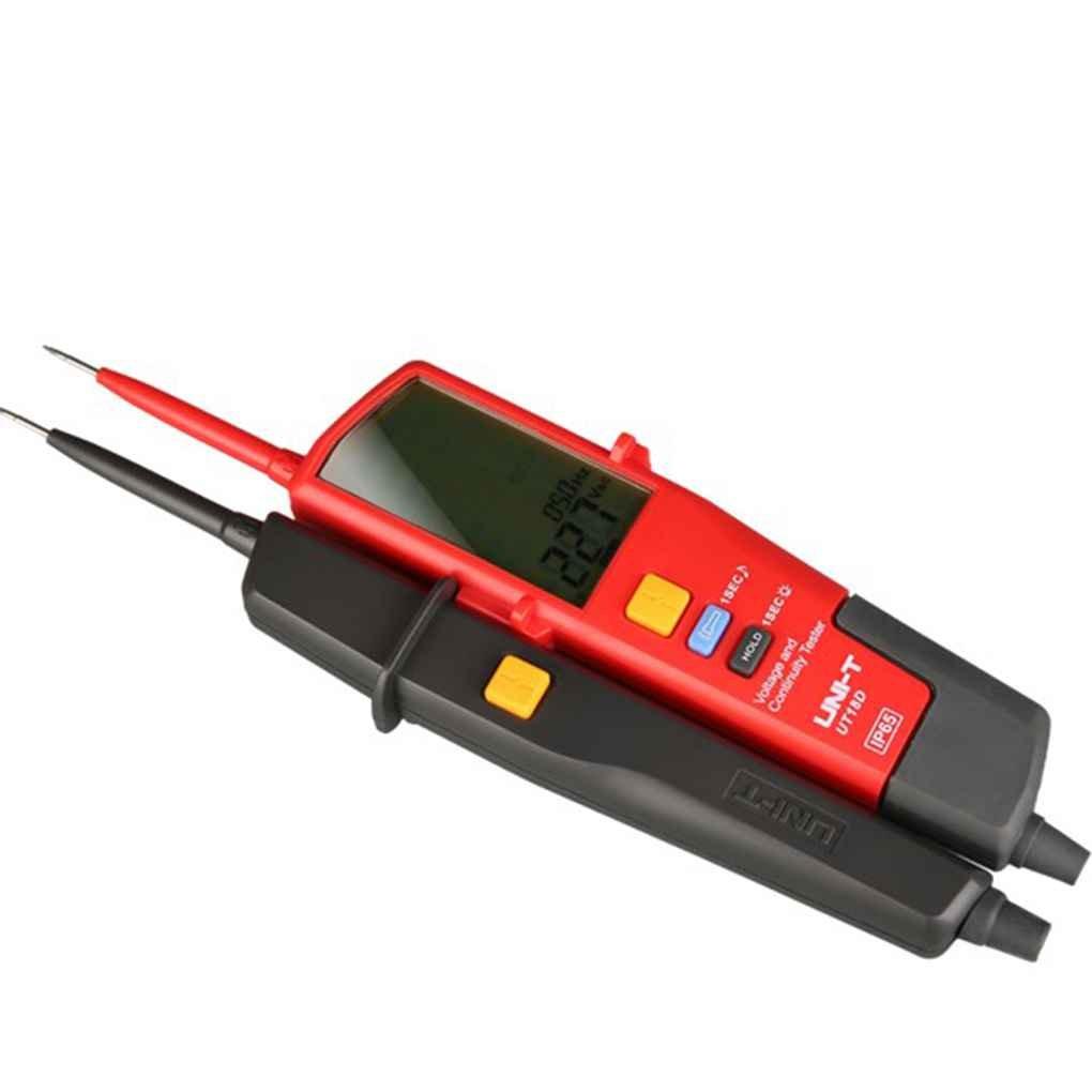 Hotaluyt Auto Continuidad probadores Uni-T UT18D Voltaje Continuidad probadores LED LCD Display Detector Volt Pen