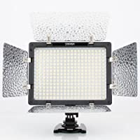 Yongnuo YN-300 LED Illumination Dimming Video Light Lamp SLR Camera DV Camcorder for Canon