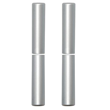 leichtes matt verchromtes Aluminium 15 mm DIM H/öhe Band: 92 mm SFS 936052 2 K/öpfe f/ür Scheide