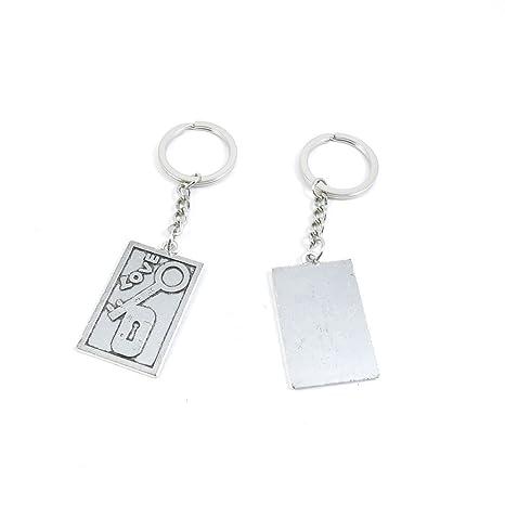 Llavero Llavero Puerta Coche clave cadena anillo etiqueta ...