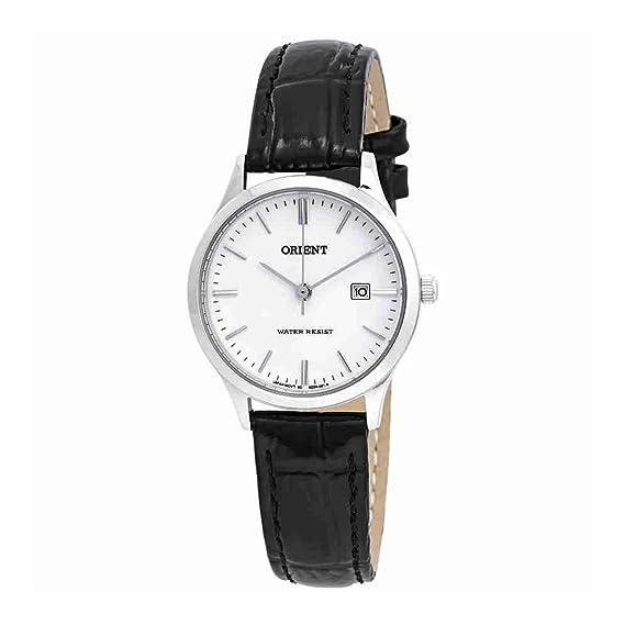 Orient FSZ3N004W - Reloj para mujer, esfera blanca clásica