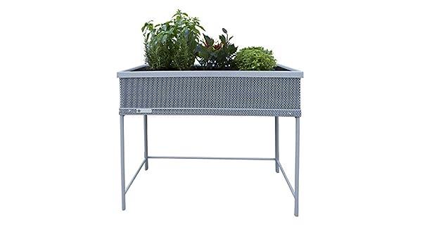 Huerto urbano Green Passion 90x45x80 cm.Color gris: Amazon.es: Jardín