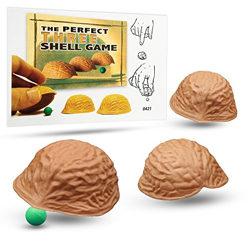 Magic Makers The Perfect Three Shell Game Magic Trick - The Perfect Equipment for One of The Oldest Con Games Ever Playe