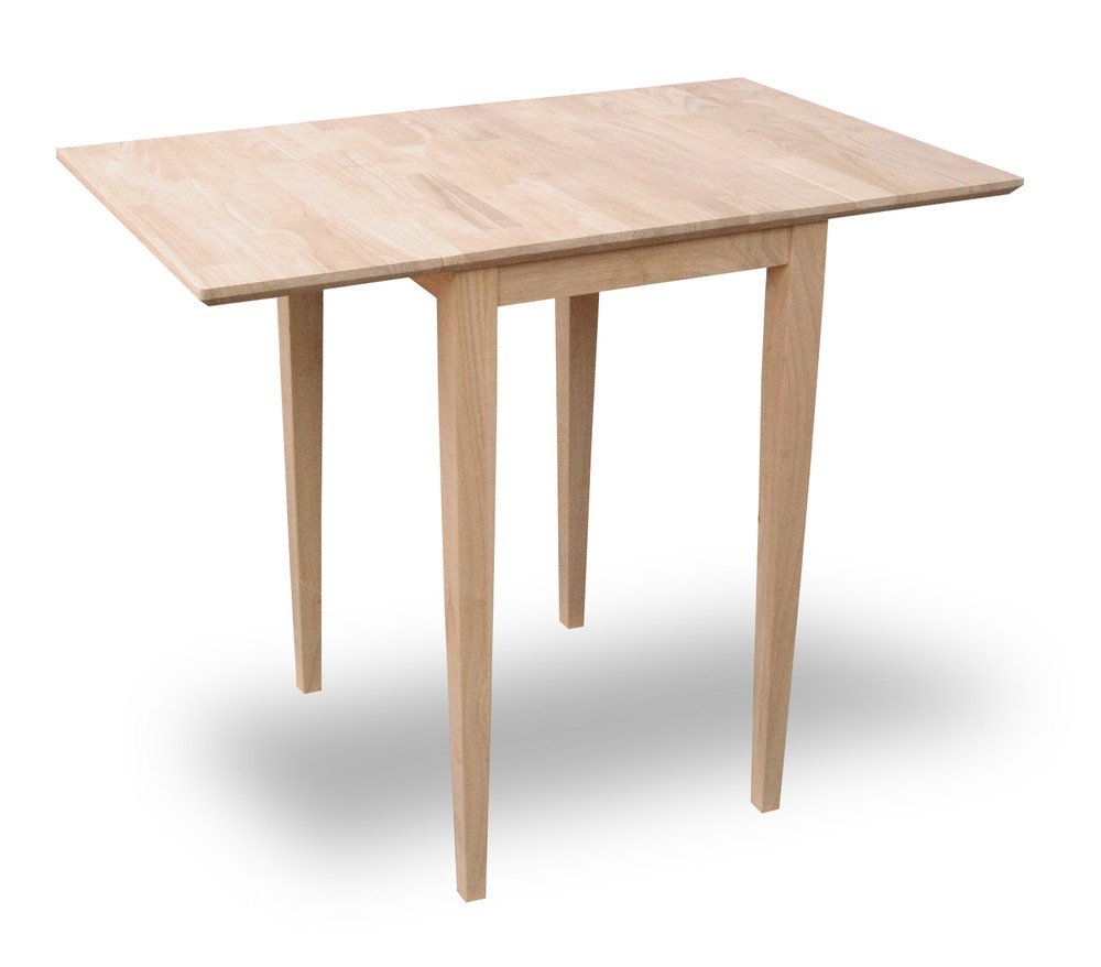 Kitchen drop leaf tables - International Concepts T 2236d Small Drop Leaf Table Unfinished