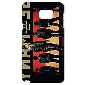 Handsome Back Rammstein Phone Case Nice Phone Cover for Samsung Galaxy Note 5