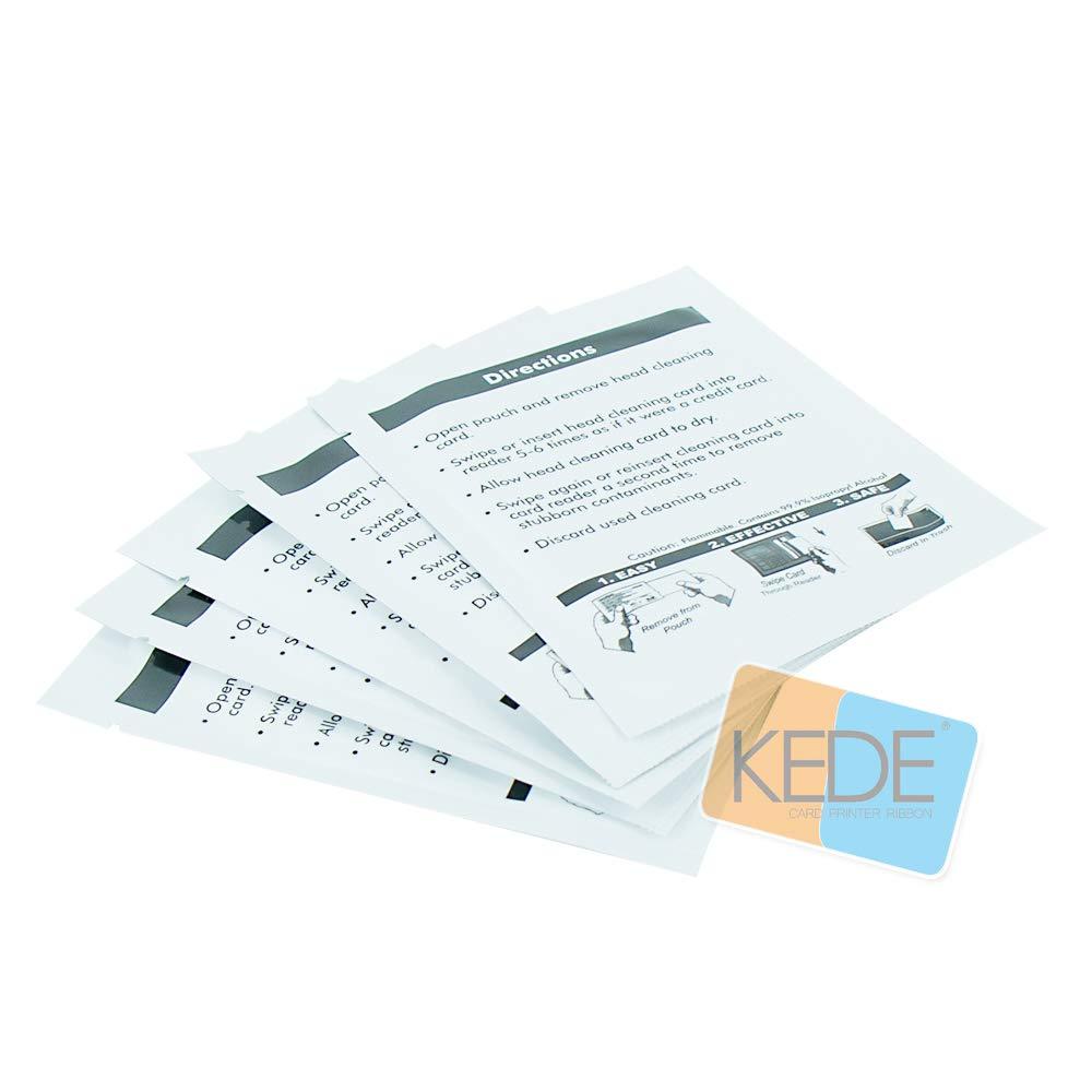 A5002 Tarjetas de limpieza 50piezas Compatible para Evolis Tattoo ...