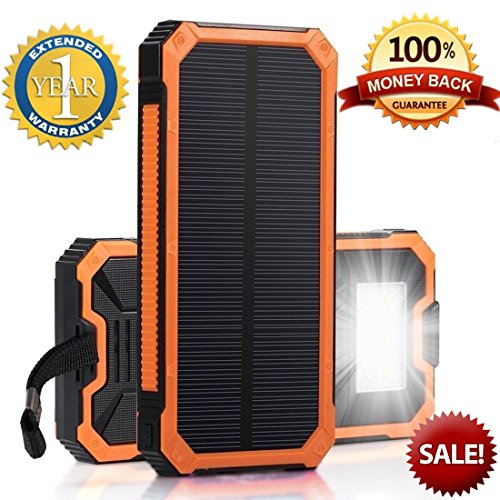 Solar Powered Phone Battery Charger - 7
