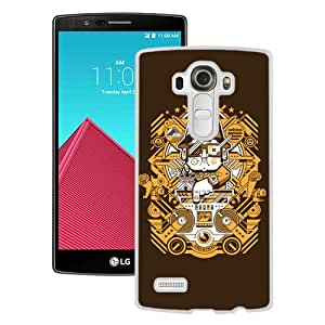 Fashionable And Unique Designed Case For LG G4 With Adidas 16 White Phone Case